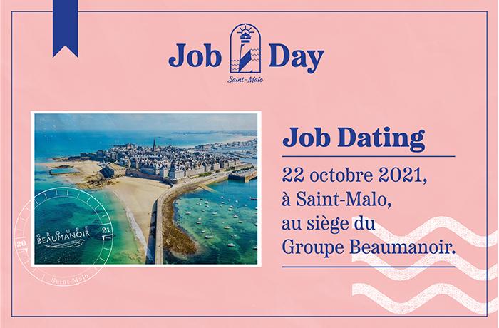 Job dating : 22 octobre 2021 à Saint-Malo au siège du Groupe Beaumanoir